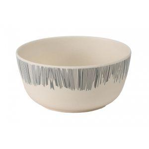 Vango Bamboo Bowl - Grey Stripe