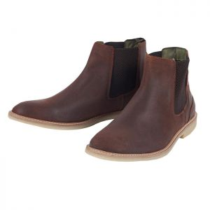 Barbour Men's Atacama Chelsea Boots - Rust Suede