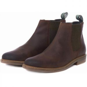 Barbour Farsley Chelsea Boots - Chocolate