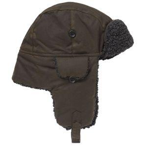 Barbour Fleece Lined Trapper Hat - Olive