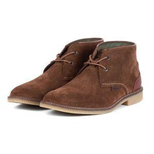 Barbour Kalahari Desert Boots - Dark Sand Suede