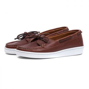 Barbour Women's Miranda Boat Shoes - Cognac