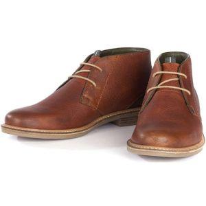 Barbour Readhead Chukka Boots - Cognac