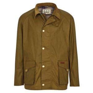Barbour Men's Alderton Wax Jacket – Sand