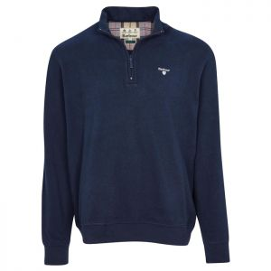 Barbour Men's Bankside Half Zip Sweatshirt – Navy