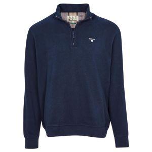 Barbour Men's Bankside Half Zip Sweatshirt – Navy