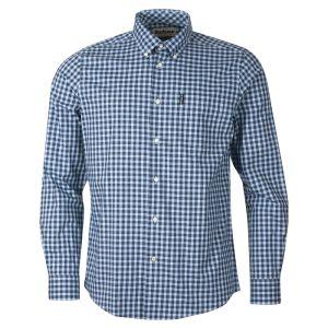 Barbour Men's Gingham 22 Regular Fit Shirt – Blue