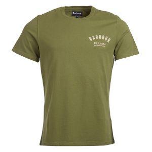 Barbour Men's Preppy T-Shirt – Burnt Olive