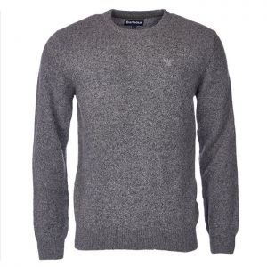 Barbour Men's Tisbury Crew Neck Sweater – Grey