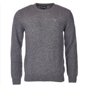 Barbour Men's Tisbury Crew Neck Sweater – Grey