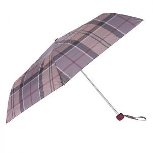 Barbour Portree Umbrella – Winter Tartan
