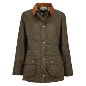 Barbour Women's Aintree Waxed Cotton Jacket – Archive Olive