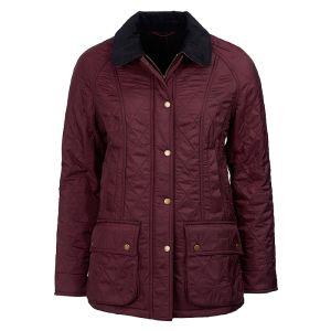 Barbour Women's Beadnell Polarquilt Jacket – Aubergine