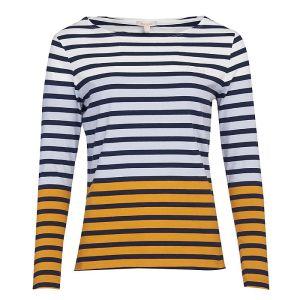 Barbour Women's Bradley Stripe Top – White