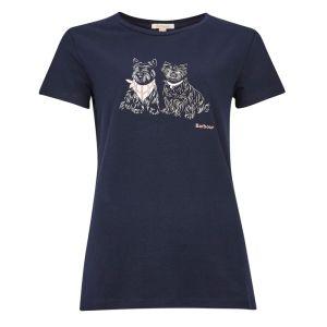 Barbour Women's Highlands T-Shirt – Navy