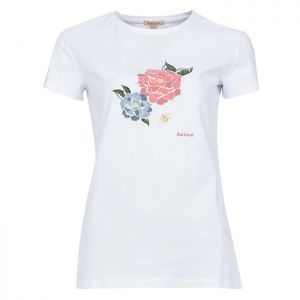 Barbour Women's Newbury T-Shirt – White
