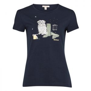 Barbour Women's Rowen T-Shirt – Navy