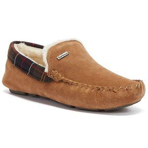 Barbour Men's Monty Slippers - Camel