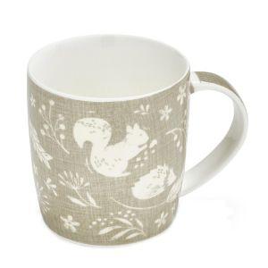 Cooksmart Barrel Mug, Grey – Woodland