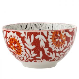 Maxwell & Williams Boho Bowl, Batik Grey - 10cm