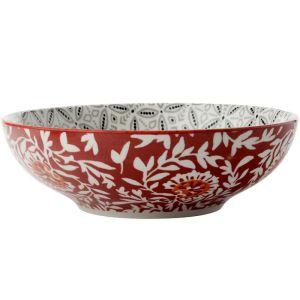 Maxwell & Williams Boho Coupe Bowl, 18cm - Batik Grey