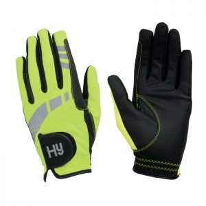 Battles Hy5 Extreme Reflective Softshell Gloves - Yellow