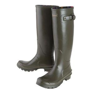 Barbour Bede Women's Wellington Boots - Olive