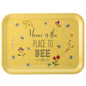 The English Tableware Company Bee Happy Large Tray - Yellow