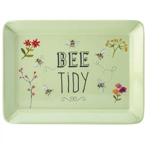 The English Tableware Company Bee Happy Scatter Tray - Green