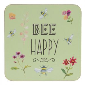 The English Tableware Company Bee Happy Coasters - Set of 4