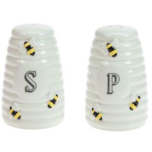 The English Tableware Company Bee Happy Salt & Pepper Shaker Set