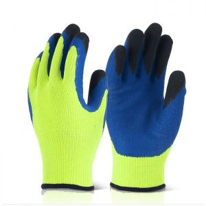Beeswift B-Flex Latex Thermo-Star Fully Dipped Glove – Blue & Green