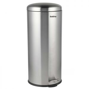 Beldray Soft Close Pedal Bin, 30 Litre - Stainless Steel