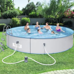 Bestway Hydrium Splasher Steel Wall Pool Set - 15ft
