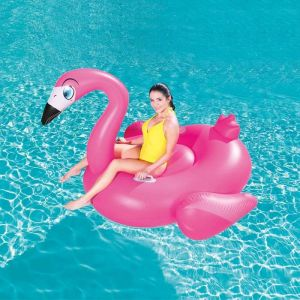 Bestway Inflatable Supersized Flamingo Rider