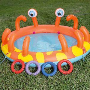 Bestway Interactive Crab Play and Paddling Pool