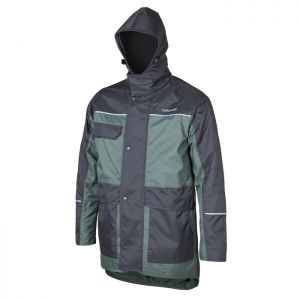 Betacraft 9044 Men's Hurricane Jacket  - Charcoal & Greenstone