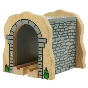 Bigjigs Wooden Grey Stone Tunnel