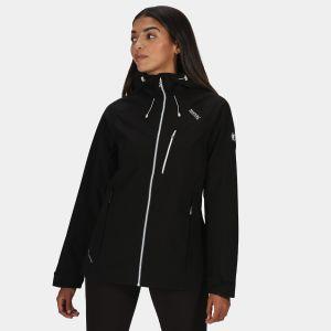 Regatta Women's Birchdale Waterproof Jacket - Black/White