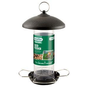 Gardman Black Steel Seed Feeder - Large