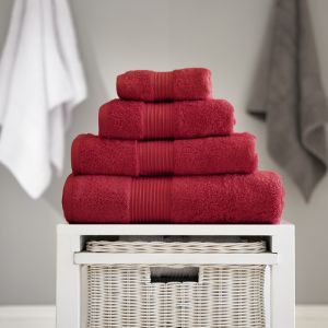 Bliss Pima Bath Towel - Berry