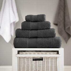 Bliss Pima Bath Sheet - Carbon