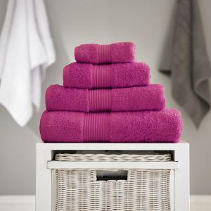 Bliss Pima Bath Towel - Magenta