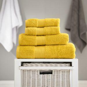 Bliss Pima Bath Towel - Mustard