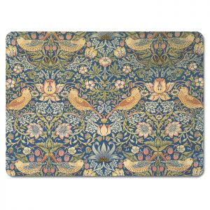 William Morris Strawberry Thief Placemats - Set of 6