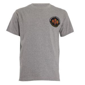 Weird Fish Men's Bocrab Artist T-Shirt - Grey Marl