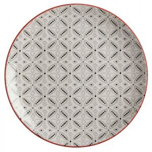 Maxwell & Williams Boho Plate, 20cm - Batik Grey