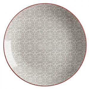 Maxwell & Williams Boho Plate, 27cm - Batik Grey