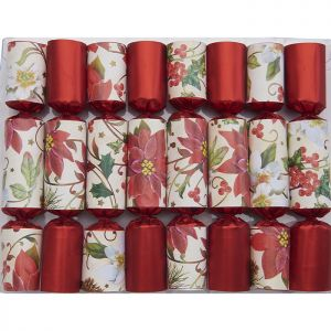 Christmas Bouquet Mini Tree Crackers – Pack of 8
