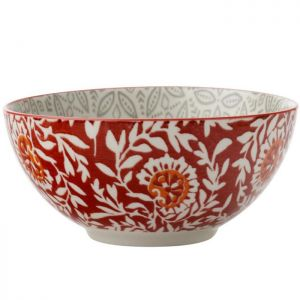 Maxwell & Williams Boho Bowl, 15cm - Batik Grey